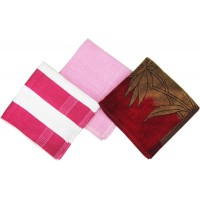 MIX TURKISH COTTON TOWELS SET OF 3