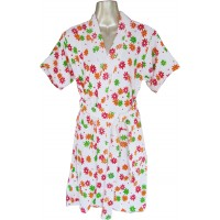 Floral Design Bathrobe for Men / Women /Kids, Bathrobe Size S,M, L, XL
