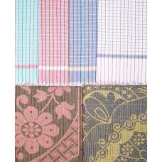 CHADDAR AND COTTON TOWEL 6 PCS SET