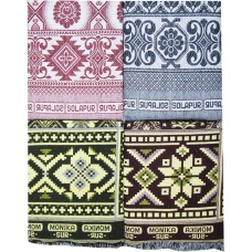 BLOCK DESIGN CHADDAR AND TRADITIONAL CHADDAR  / SET OF 4