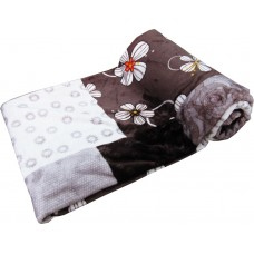 FLORAL COLLECTION SUPER SOFT PRINTED BLANKET