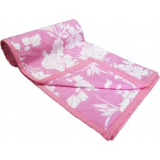 LEAF PATTERN 1 PIECE SINGLE BED COTTON DOHAR AC BLANKET