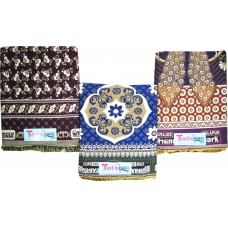 DISCOUNTED RATES CHADDARS SET OF 3 / COTTON BLANKETS OF 3 VARIETIES