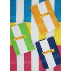 BATH TOWELS SET IN PURE COTTON /  LINNING TOWELS SET OF 6