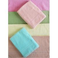 LIGHT COLORS TOWEL SET / BATH TOWEL SET OF 2 PIECES IN PURE COTTON