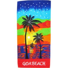 GOA BEACH PRINTED SUPER SOFT 1 PIECE COTTON BATH TOWEL