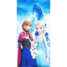 DISNEY FROZEN QUEENS THEME BLENDED COTTON BEACH TOWEL PACK OF 1
