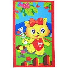 CLASSIC SOFT KIDS CARTOON BATH TOWELS IN BLENDED COTTON- TOWELS PACK OF 2