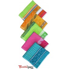MULTI COLOR PRESENTATION HAND TOWELS IN TURKISH COTTON PACK OF 5