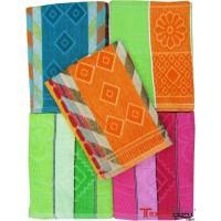 REGULAR TOWELS SET / TURKISH COTTON TOWELS PACK OF 2