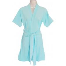 Blue Bathrobe for Men / Women and Kids in Blue / Bathrobe Size M,L,XL