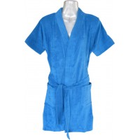 Hosiery Blue Bathrobe for Men / Women /Kids, Bathrobe Size M, L, XL / Special Bathrobe