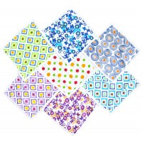 Printed Hosiery Cotton Napkins Set of 7 Pieces /Set of 2 Packs
