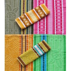 Cotton Hand Towel /Multicolour Hand Towel Set of 6 Pcs
