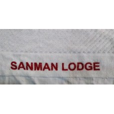 Customized Hand Towels with your name printed 50 pieces