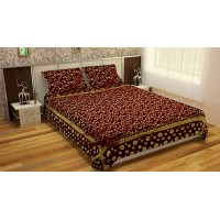 PREMIUM CHENILLE KING SIZE BEDSHEET FOR BED PACK OF 1