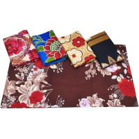 3D Floral Printed Bedsheet For Double Bed With 2 Pillow Covers Set