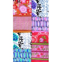 COTTON SUPERIOR MULTI FLORAL DOUBLE BED SHEET WITH 2 PILLOW COVERS