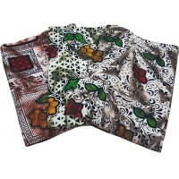 FLORAL DOUBLE BED PURE COTTON BEDSHEET WITH 2 PILLOW COVERS AT DISCOUNT RATE