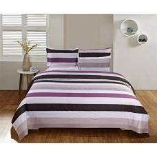 Abstract And Exclusive Of Range Georgeus Panel Print Cotton Bedsheet With 2 Pillow Covers Set