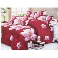 Bedsheet Designer Piece  / Cotton Double Bed Sheet with 2 Pillow Covers