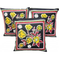 CUSHION COVER WITH ATTRACTIVE FLORAL PRINT PACK OF 3