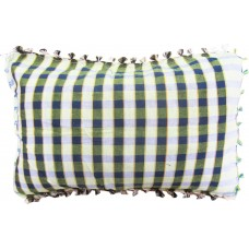 CHECKS COTTON CLOTH  PILLOW CASE