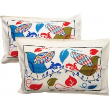 ETHNIC DECORATIVE COTTON PILLOW COVER CASE