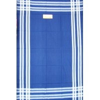 Plain Cotton Single bedsheet in Dark Colors with white linning border Set of 2