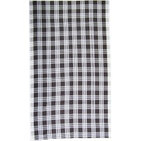 Pure Cotton Checks Single Bedsheet in Brown Color ,Set of 2 pieces