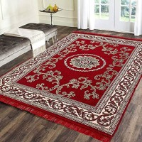 Large Size Chennile Carpet Attractive Colors / Exclusive Soft Carpets 6 * 9 - Pack of 1