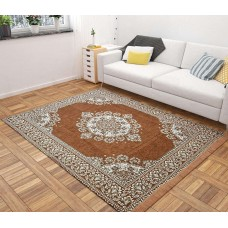 Chennile Large Size Carpet Premium Quality  Rug Foldable 6 * 9 - Pack of 1