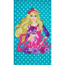 BLUE BARBIE PRINT CARPET / EXCLUSIVE ANTI SKID CARPET