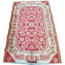 INDIAN FINE QUALITY REVERSIBLE  PLASTIC CARPET / CHATAI AT DISCOUNTED PRICE - PACK OF 1