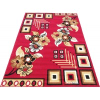 CLASSY MODERN DESIGN FLORAL CARPET RUG FOR LIVING ROOM