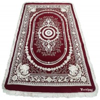 THICK QUALITY BOTH SIDE USABLE LUXURIOUS SOFT TOUCH CHENILLE CARPET RUG ( 6 X 9 ) FEET