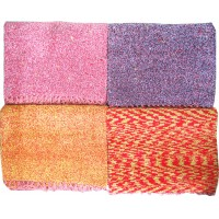 THICK QUALITY PLAIN PURE COTTON SATRANJI / CARPET GALICHA