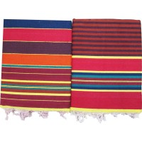 DISCOUNT OFFER JHAMKANA / SATRANJI /CARPET IN PURE COTTON SET OF 2 PIECES