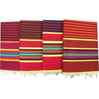 Satranji /Carpet in Cotton / Linning Solapuri Jhamkahana- Set of 4