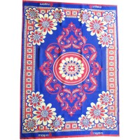 DESIGNER CARPET / 3D CARPET REVERSIBLE COTTON SOLAPUR CARPET 6 *9 LARGE FLOOR CARPET