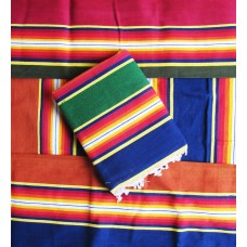 Special Cotton Linning  Solapur Carpet / Satranji / Bhavani carpet in Multicolours