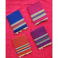 Plain Color Solapur Carpet / Satranji / Bhavani carpet in Pure Cotton