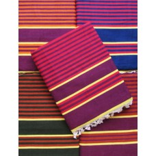 Carpet in Zebra Linning /Solapur Satranji / Bhavani carpet in Multicolours