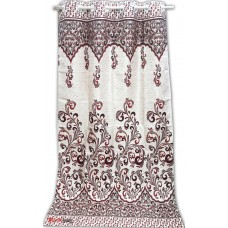 Jacquard design door curtain