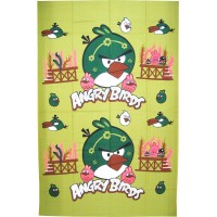 ANGRY BIRD CARTOON DESIGN COTTON DIWAN SET