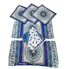 DAILY USE SUPERIOR COTTON DESIGNER DIWAN SET - PACK OF 6 PIECES