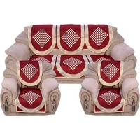 RED DIAMOND DESIGN JACQUARD SOFA COVER PACK OF 6