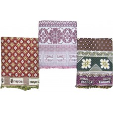 BEST PRICE CHADDARS PACK OF 3 COTTON BLANKETS 3 NEW VARIETIES