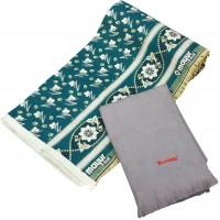 Mayur pankh Small Design Solapur Cotton Chaddar With Large Size Shawl  - Pack Of 2
