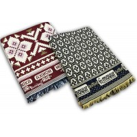 COTTON BEST QUALITY  BLANKETS / CHADDARS SET - PACK OF 2